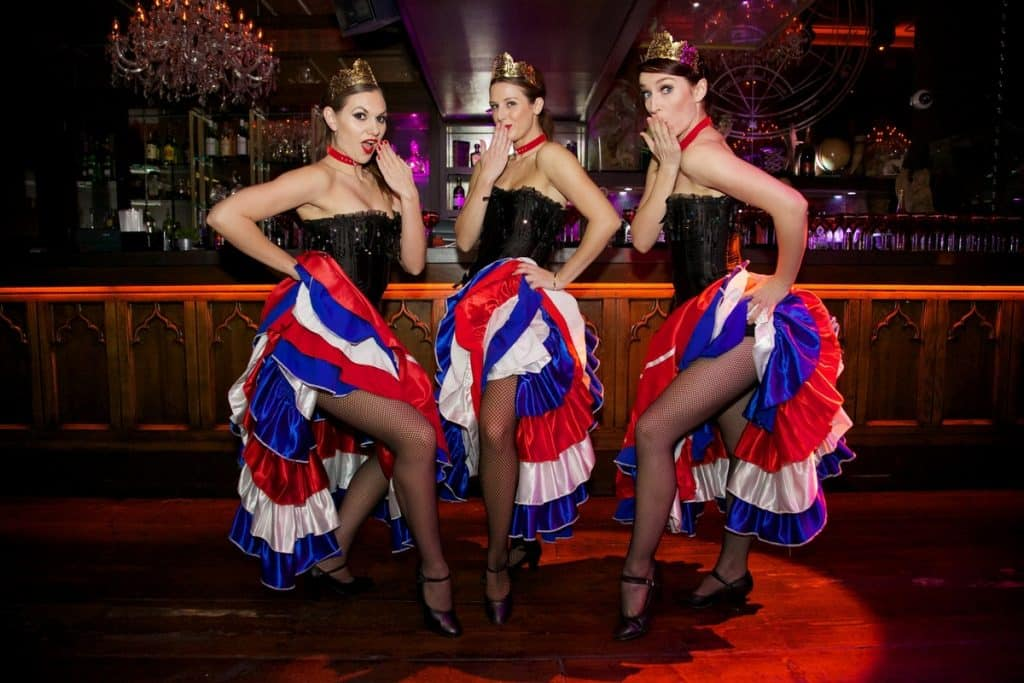 Book cabaret entertainment for casino themed events