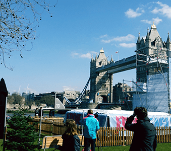 experiential campaigns in London and the UK