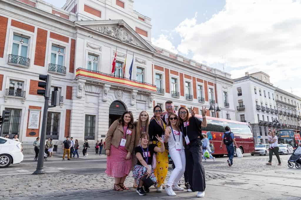 Gemma Cripps attending C&T International Forum in Madrid.