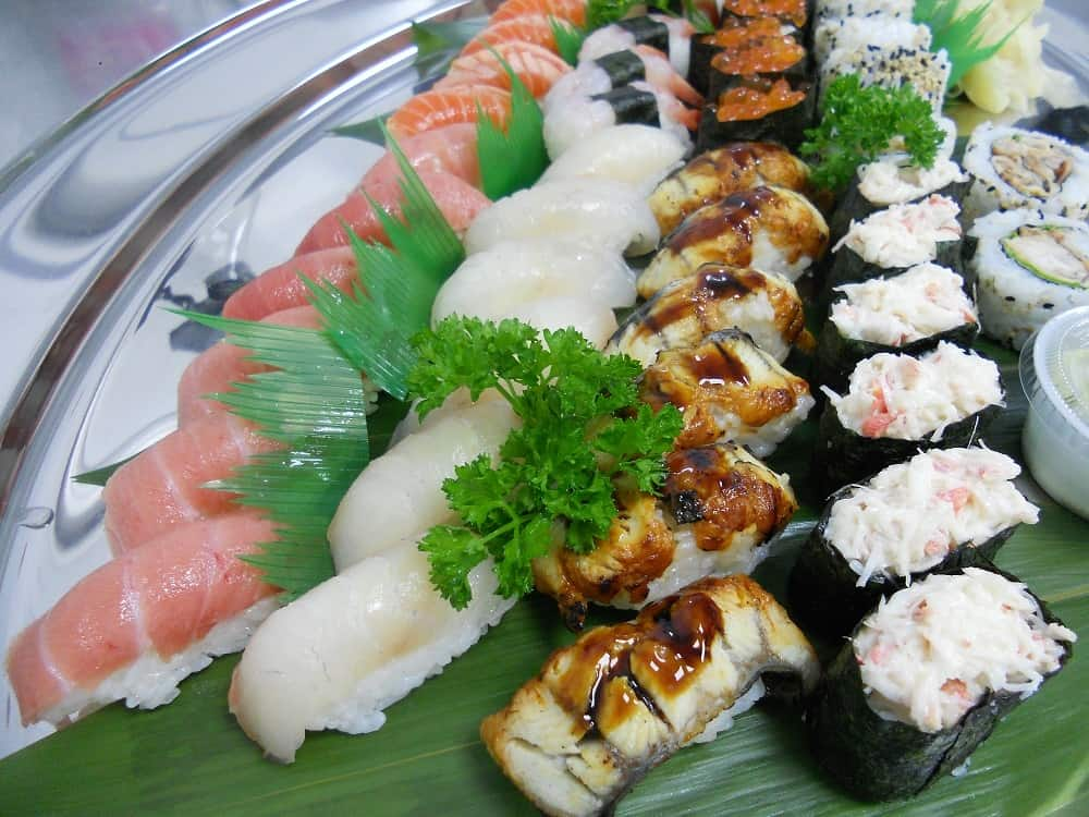 Gourmet Japanese Catering for hire. Book our sushi caterers for product launches, private parties or corporate events in the UK.