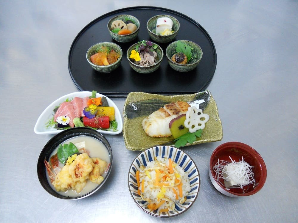 Bespoke Japanese food menus for events.