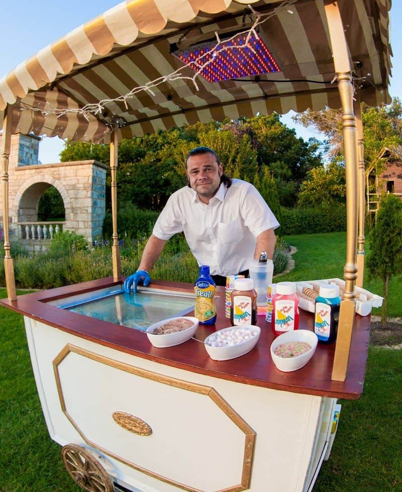 Our ice cream stands are perfect for family fun days and summer events.