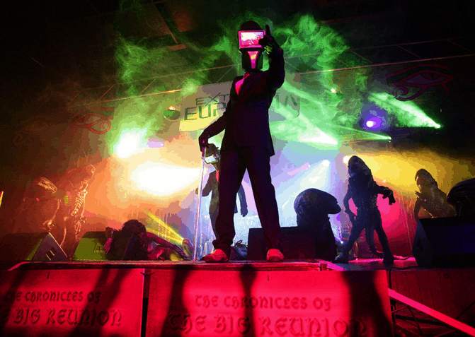Sci-Fi inspired DJs available to hire for Sci Fi Themed Events.