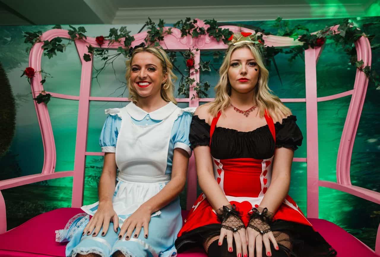Alice in wonderland inspired performers available to book for twisted alice in wonderland events