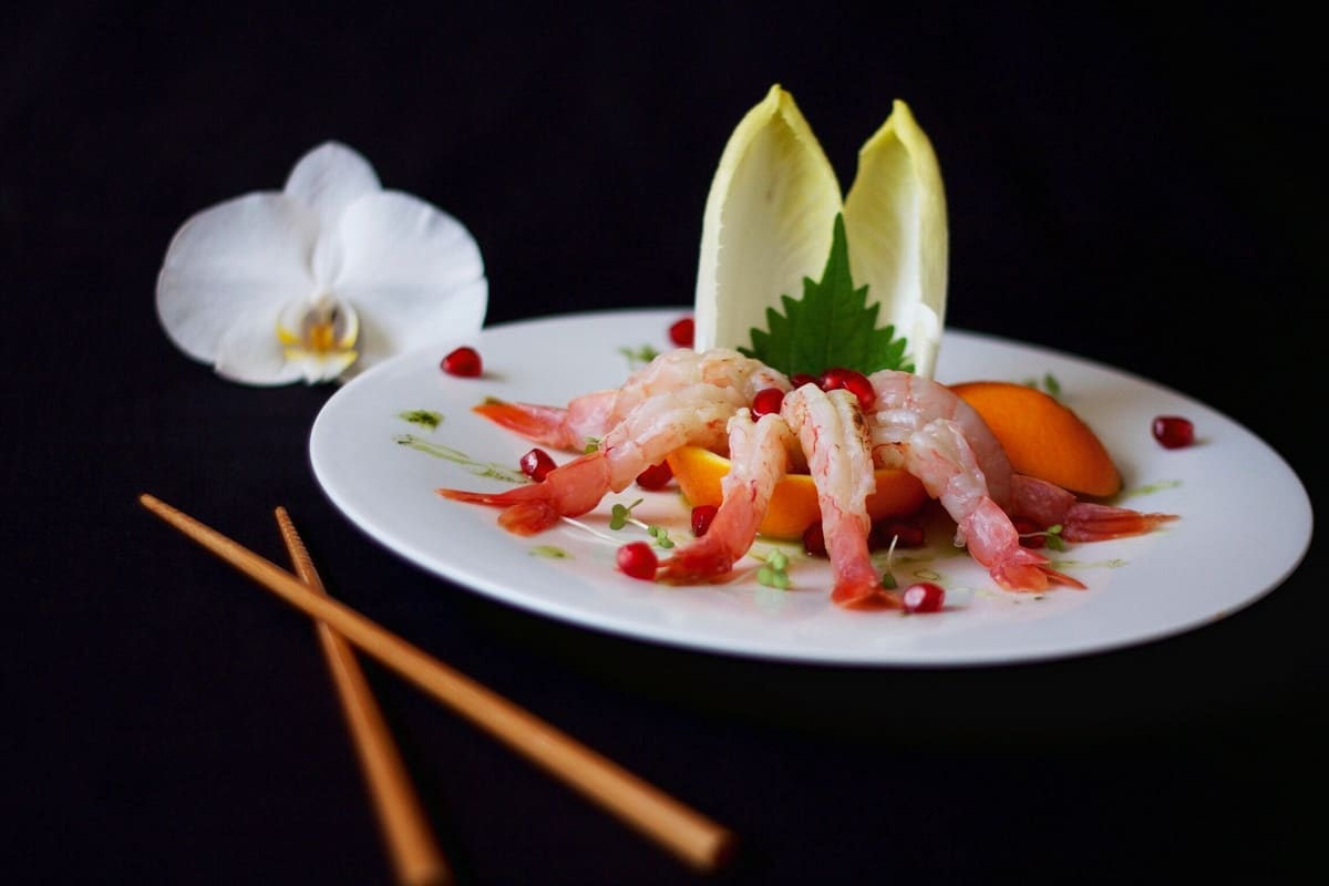 Authentic Japanese food caterers for hire for award ceremonies in London.