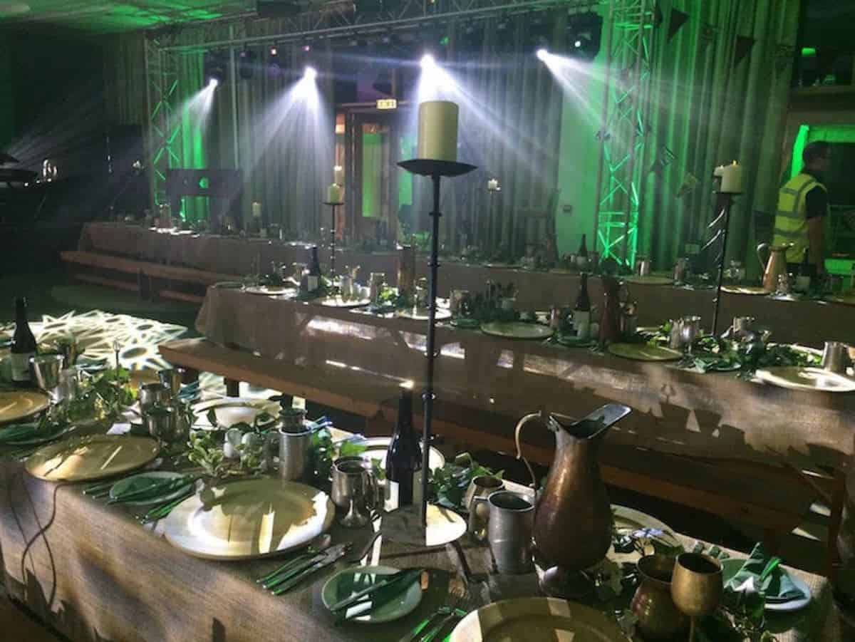 Our Medieval Themed Banquet is available for hire for weddings in London & the UK.