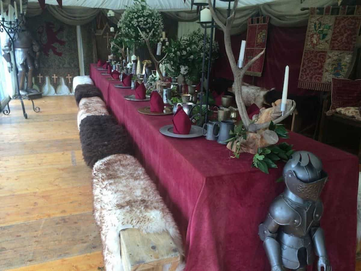Our brilliant Game of Thrones themed banquet is available to book for themed events in London & the UK.