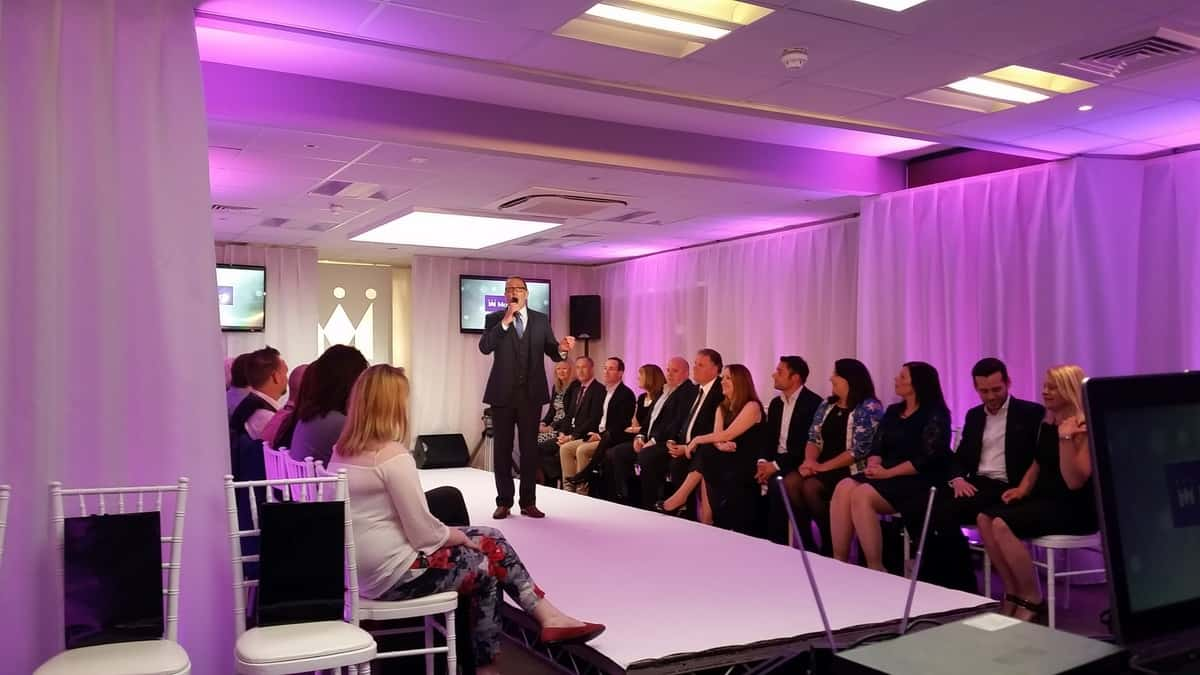 Product launch entertainment available to hire for fashion shows in London and the UK