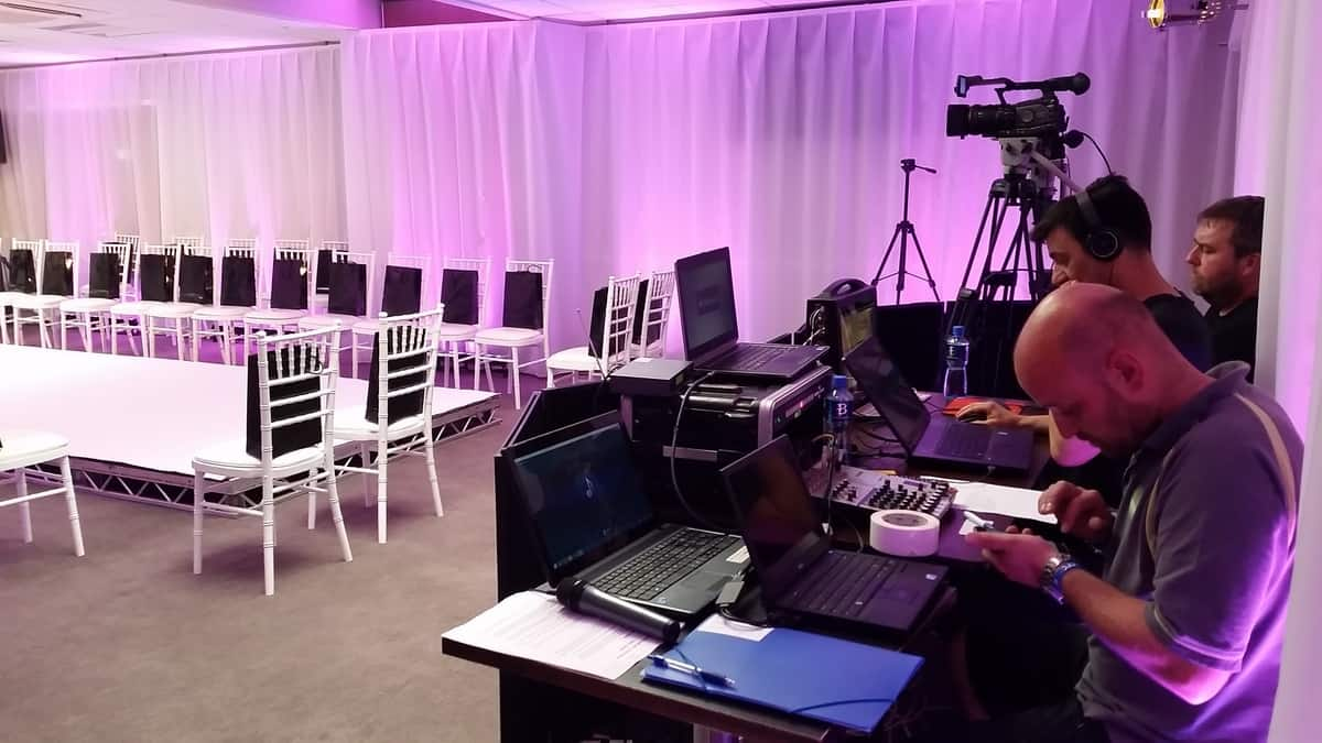 Production teams available to hire for fashion shows in London and the UK