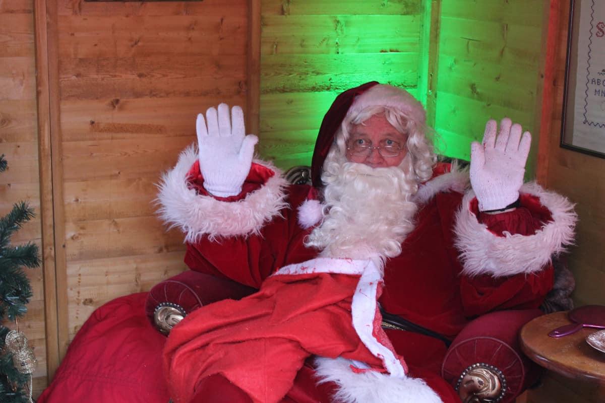 Santa Claus feeling cosy in this bespoke design
