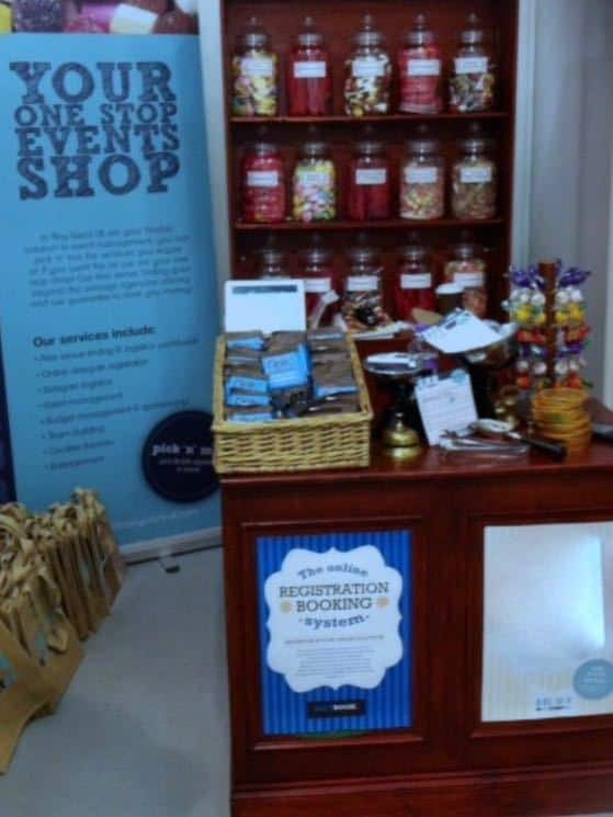 The Olde Sweet Shop for hire. Book our travelling sweet shop attraction for family fun days in the UK & London.