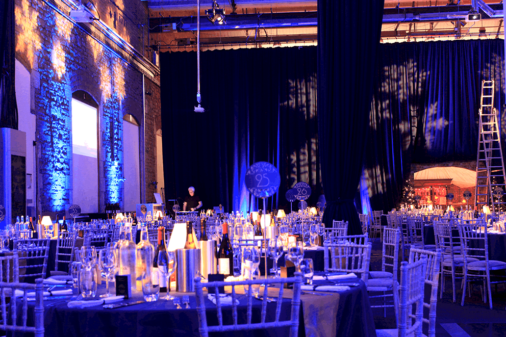 1920s Orient Express Awards Dinner themed event we created for our corporate client in London.