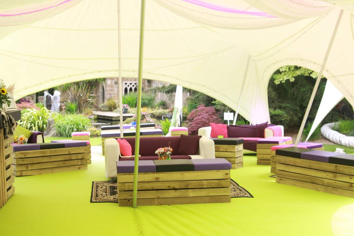 bespoke marquee hire for family fun days in London and the UK