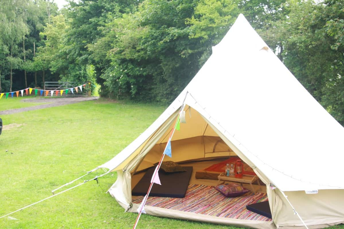 Yurts available to book for festival themed events in London and the UK