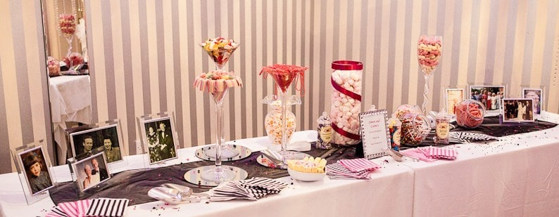 our pick 'n' mix stands can be hired for all events. You can hire our sweet tables for exhibition, corporate and party events.