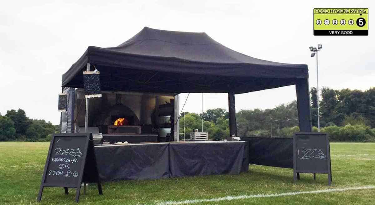 Our pizza service is available to book for weddings in London & the UK.