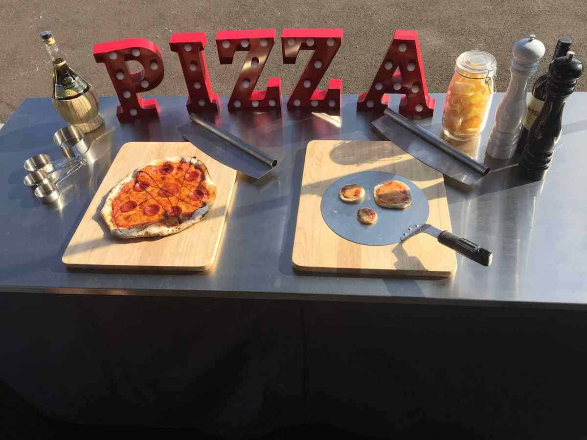 Our Mobile Pizza Catering Service is available for hire for corporate events in London & the UK.