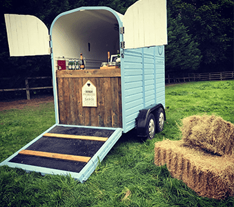 Hire a rustic bar for corporate events in London and the UK