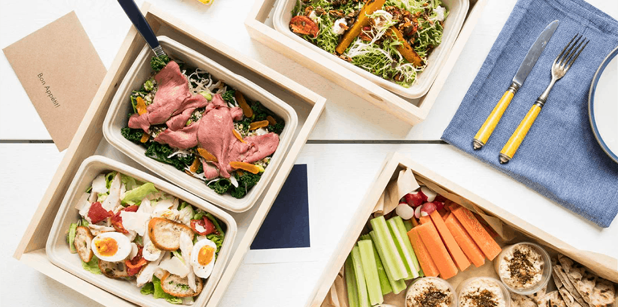 Book catering delivery for your next corporate event