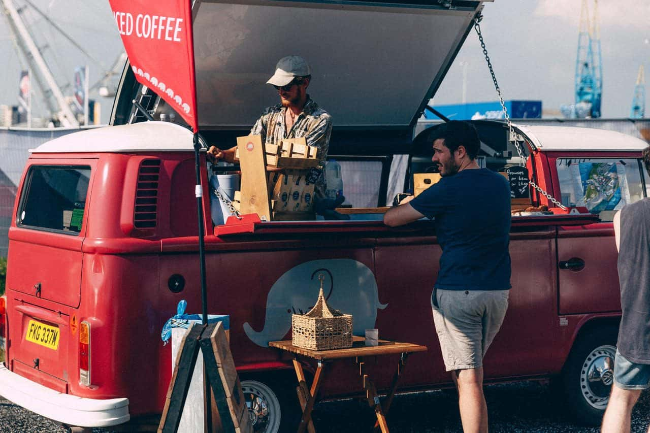 Coffee catering for events
