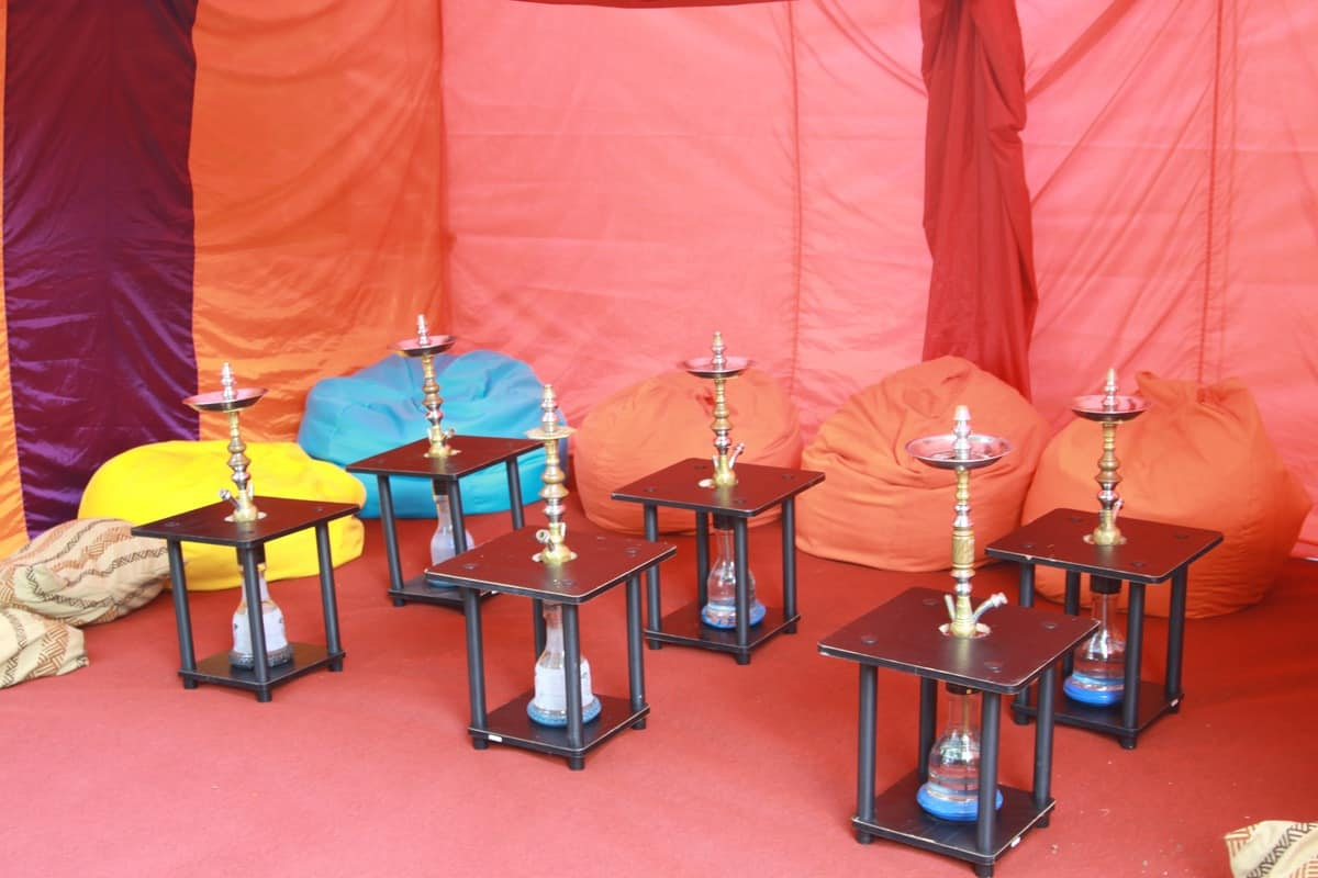Hire shisha lounges for festivals in London and the UK