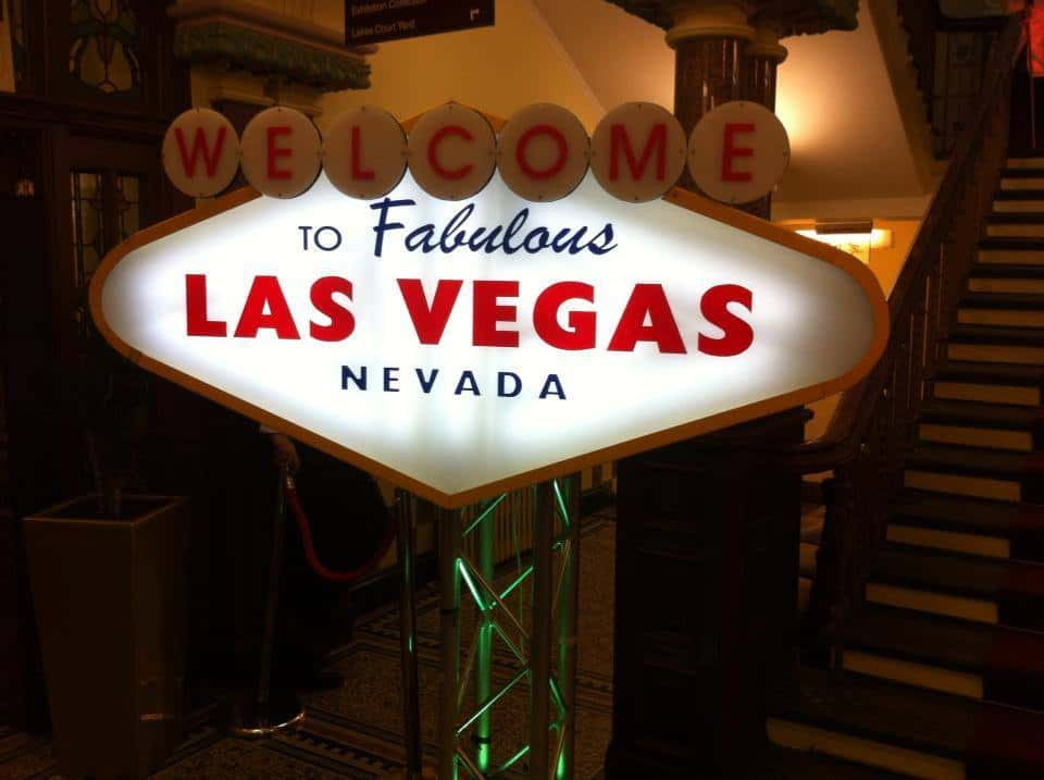 Las Vegas themed productions for hire in London and the UK.