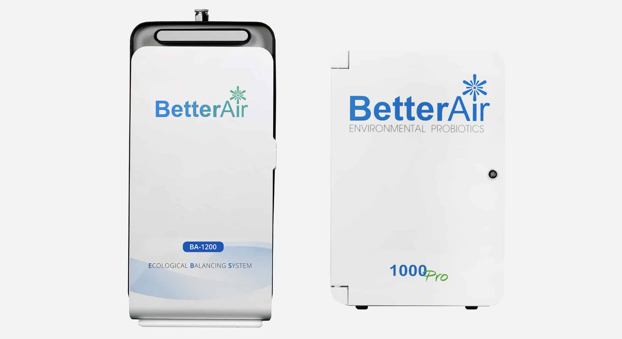 Better Air UK & Better Air US Commercial products available for hire or purchase.