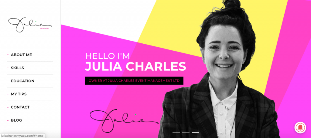 Julia Charles My Way blog.