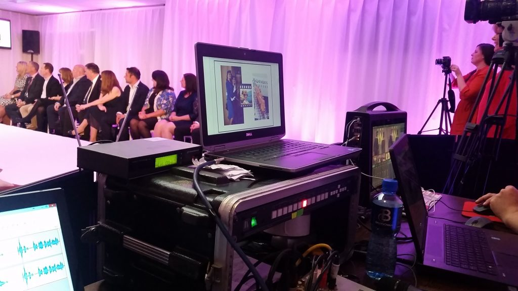 Staging ,Lighting and AV were really important for this fashion show event production we created for Monarch airlines