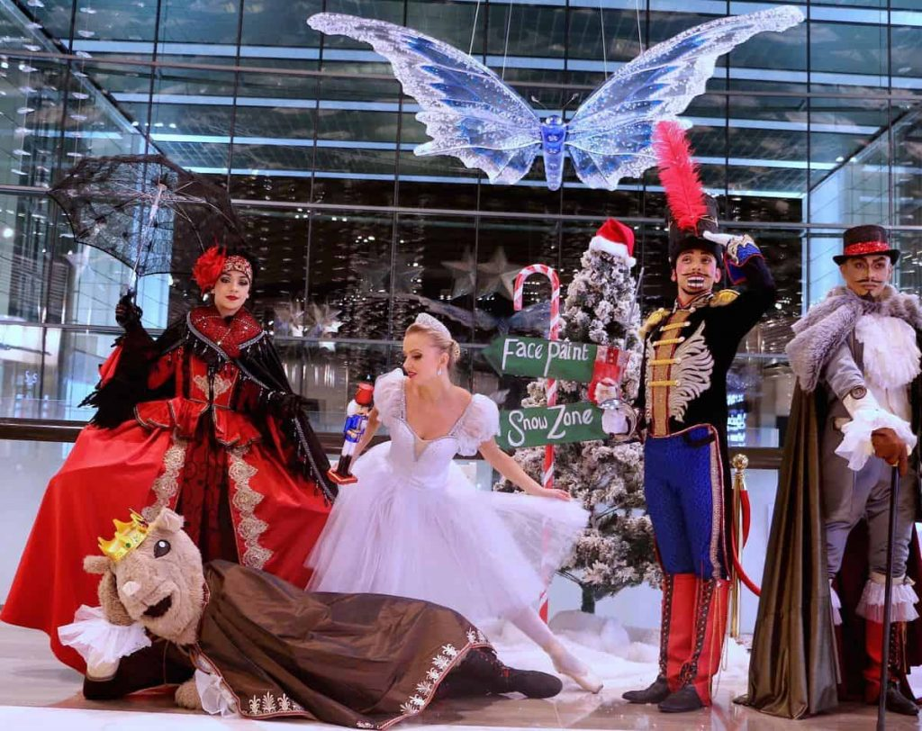 Traditional Christmas Theme Dance Show available to hire for traditional Christmas Themed Parties and Events in the UK.