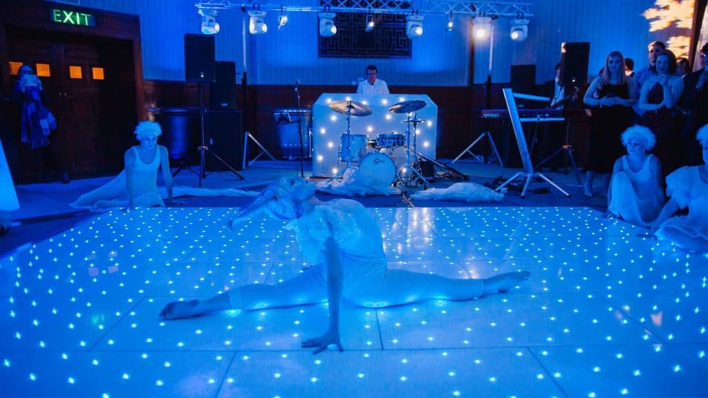 Winter Wonderland Dancer available to book for Christmas Entertainment UK.