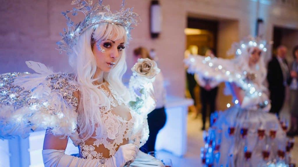 Winter Wonderland Themed Entertainment.