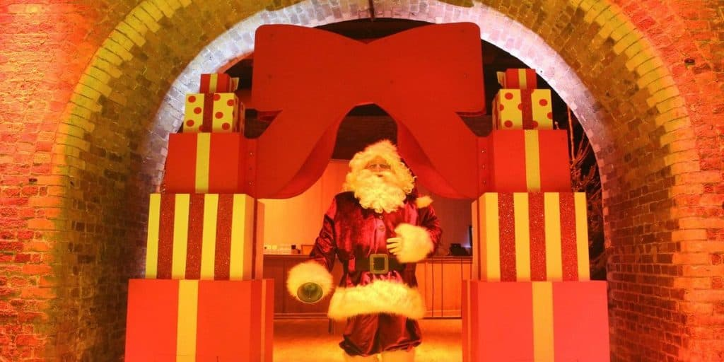 Christmas Santa available to book for Christmas Themed Events. Perfect for Christmas meet and greet entertainment.