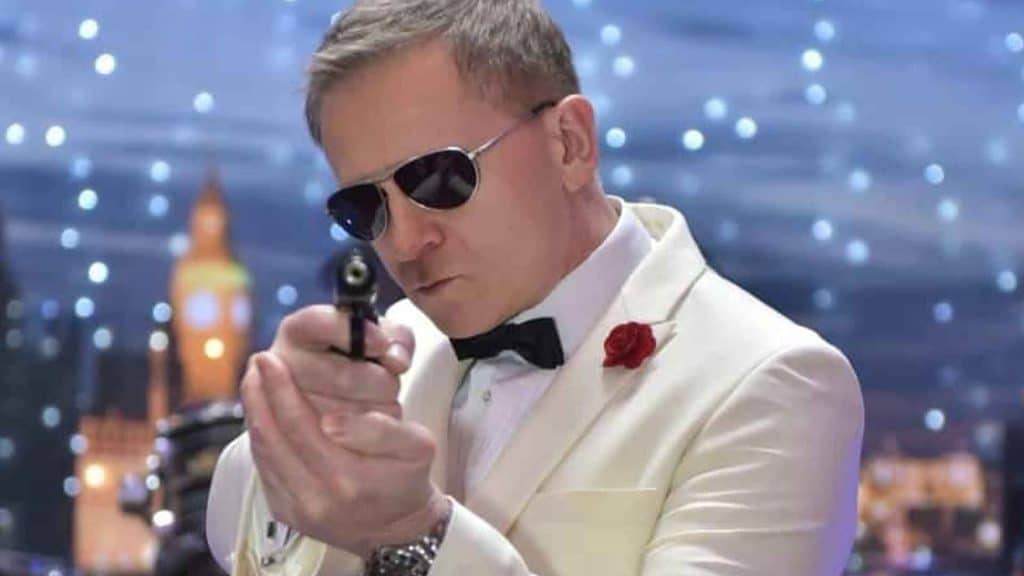James Bond Daniel Craig Movie Entertainer available to hire for all events UK