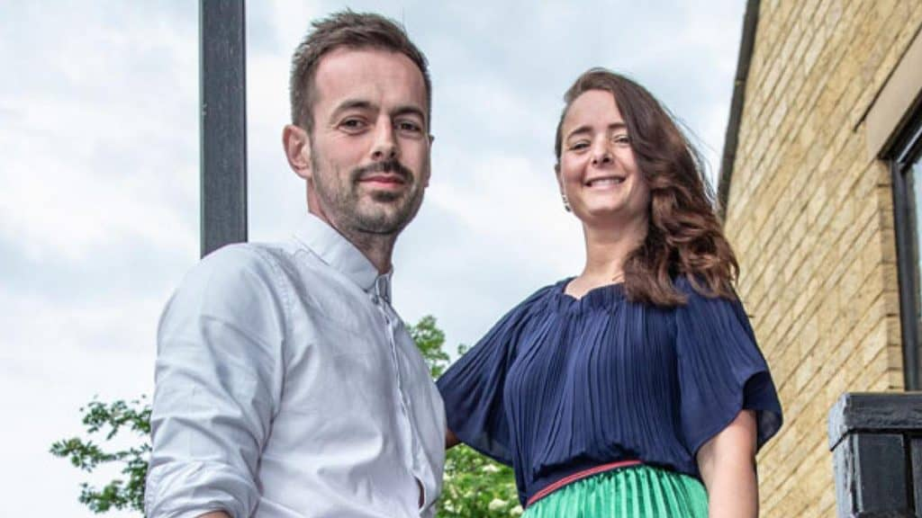 Michael Charles (left), Creative Director and Julia Charles-wiginton (right) Managing Director of Julia Charles Event Management.