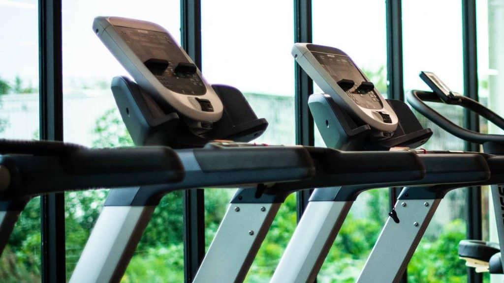 Gym Treadmills used to prepare for the MK Half Marathon.