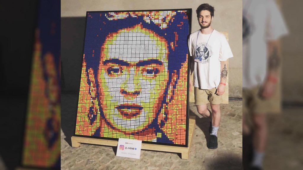Jvenb Rubik's Cube Art.