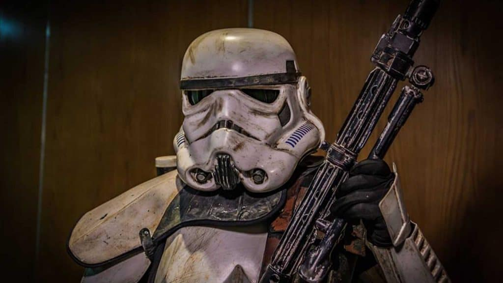 Star Wars Stormtrooper available to hire for Sci-Fi Themed even