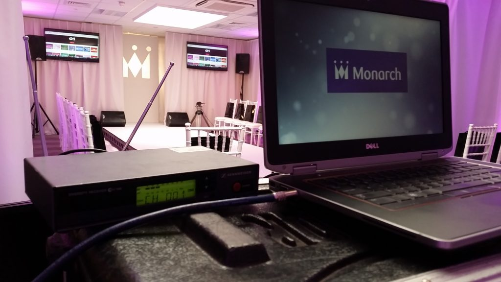 Monarch Fashion Show Production by Julia Charles Event Management.