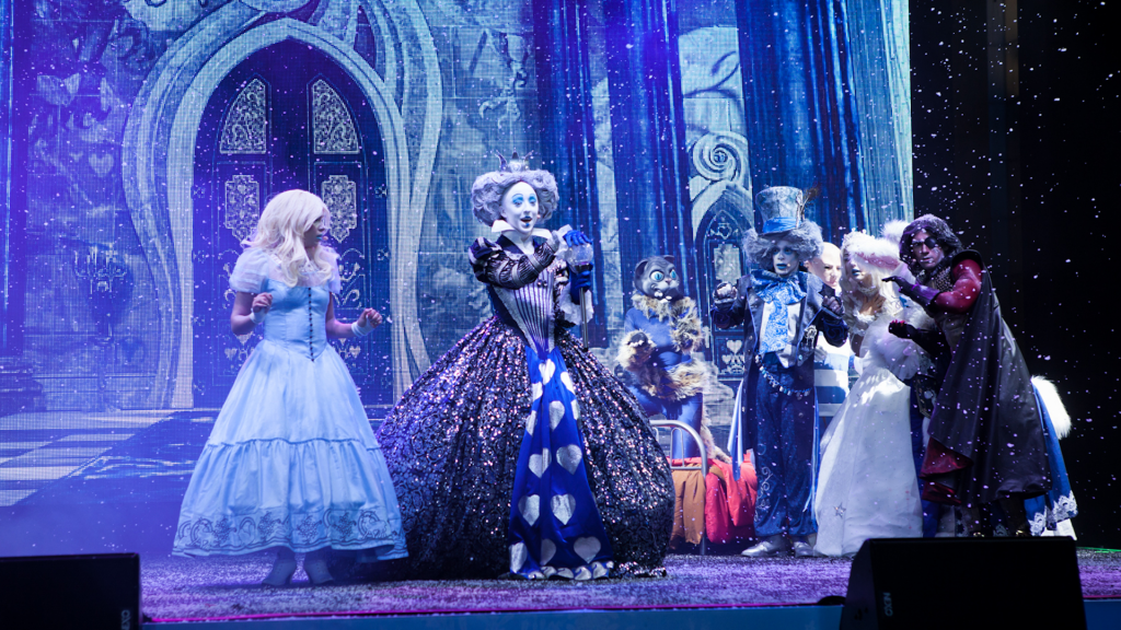 Alice in Winter Wonderland Stage Show for productions of all sizes and world-class events around the globe for seasonal events