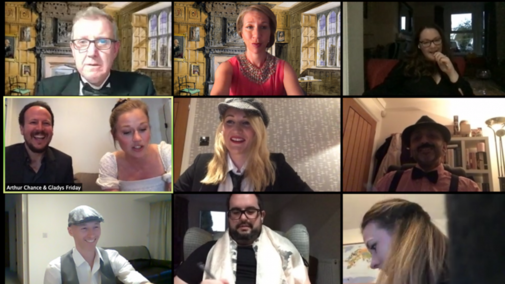 Hire virtual entertainment for your video conference