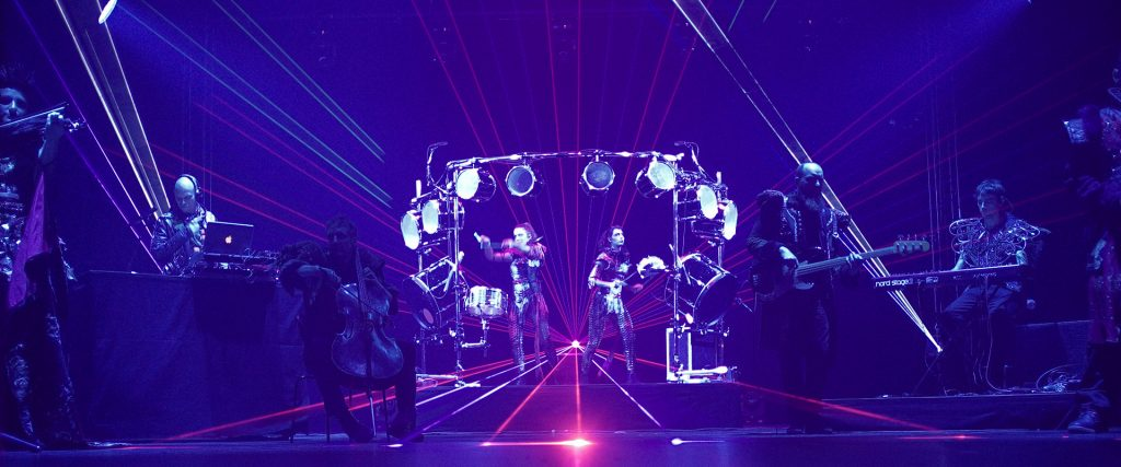 Our technologic and LED bespoke shows will make an impression to your guests