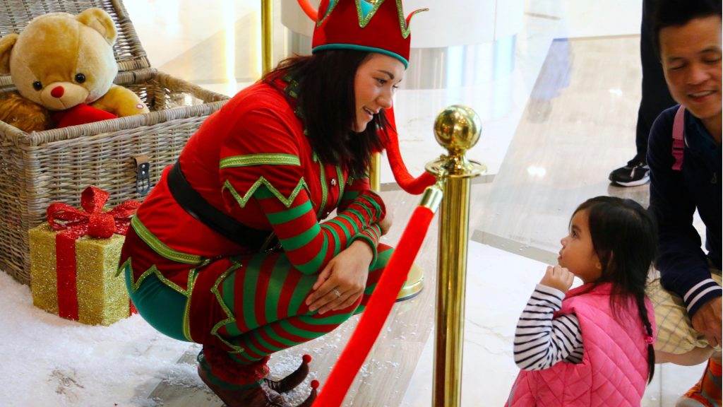 Our Elf Entertainers will raise the Christmas Spirit, making the little ones remember the Christmas Grotto for years
