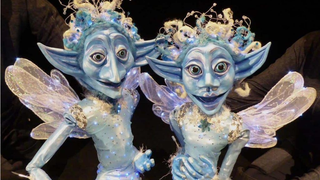 The winter fairies are perfect for children and adult Christmas events in London and the UK