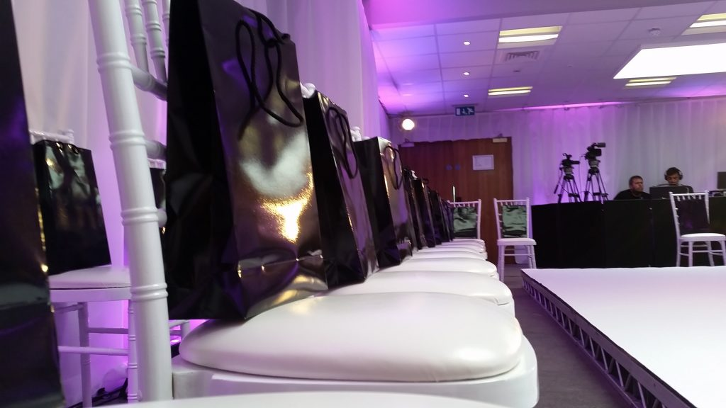 Monarch goody bags supplied to all guests who attended the Monarch Airlines fashion show event we organised