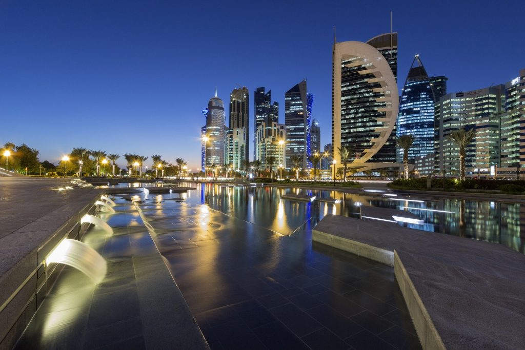 Doha, one of the cities who will play hots to the stadiums for the Qatar 2022 FIFA world cup