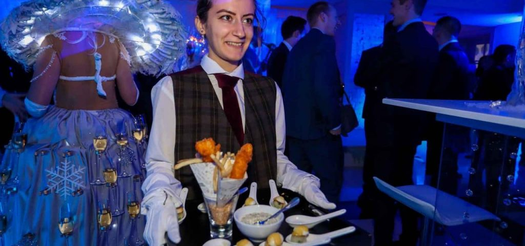 Our Catering Services are an incredible Corporate Entertainment option for your party