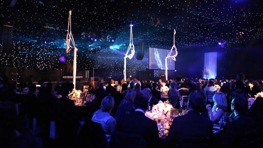 Sponsorship deal for awards ceremony and charity gala