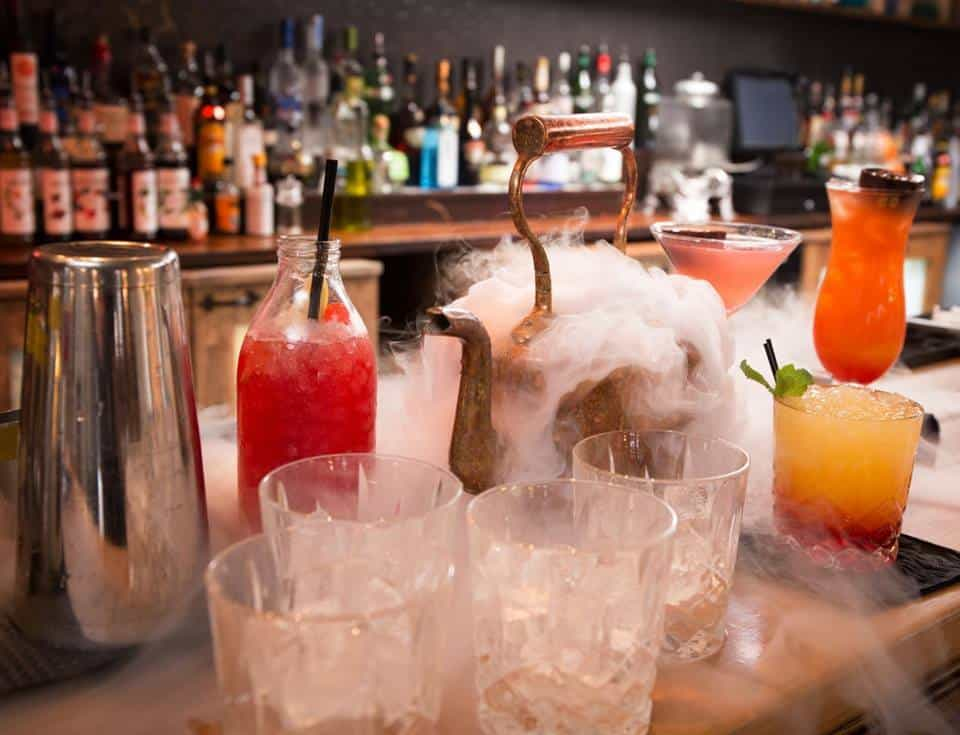 Halloween Cocktail service available to hire for virtual Halloween events in 2020.