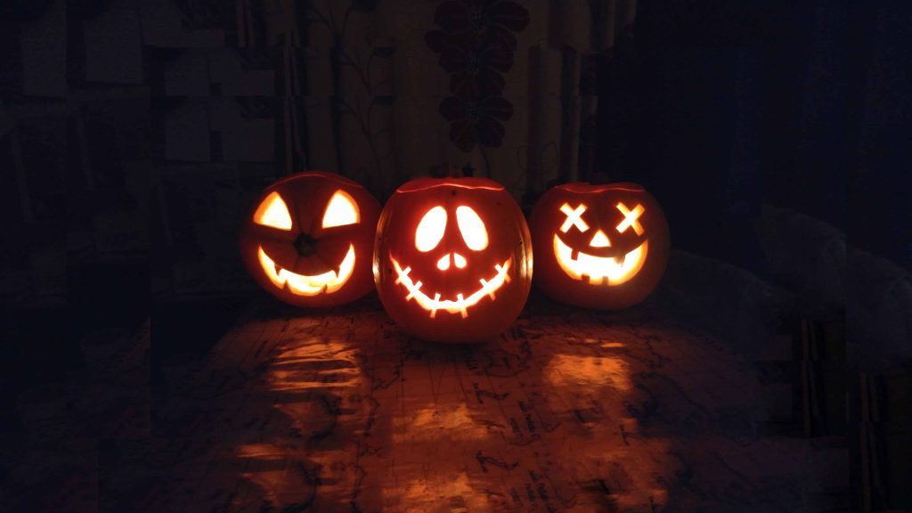 Pumpkin Carving Artist creations. Our pumpkin Carving artist is available to hire for online Halloween events to provide step by step guides.